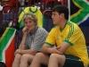 Südafrikanische Supporter