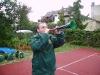 Vuvuzela im Einatz