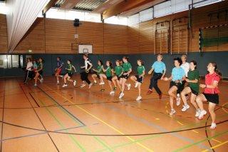 Nationalmannschaft im Training