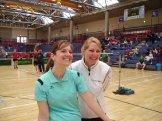 Die Mannheimer Schwestern Maike und Silke