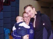 Dominic Schubardt mit Familie