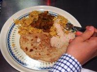 Indisches Hauptgericht