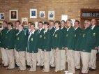 SA Delegation im offiziellen Gewand