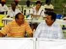 WM2006: Amtsträger Dr. Prakash Nandurkar und  Dr. Venugopol