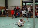 Kampfbetontes Spiel im Männerdoppel