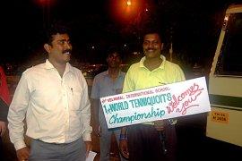 WM 2006: Empfang in Indien