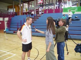Dominic Schubardt im TV Interview