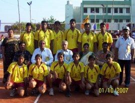 Indien: Gruppenfoto Karnataka 2007