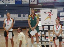 Siegerehrung Einzel-WM Frauen