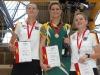 Siegerehrung Einzelweltmeisterschaft Frauen