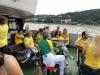 Brasilien auf dem Boot