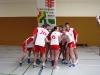 Polnisches Team stimmt sich auf Match ein