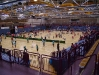 WM-Halle mit Meisterschaft-Atmosphäre