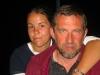Südafrikatour 2004: Ester mit Vater Johan Ferreira