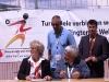 DTB-Vizepräsidentin Sibylle Richter mit dem Ringtennis TK