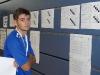 Andrei Konan prüft den Aushang