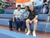 Die Verlobten Sujita und Balaji mit Teambetreuer Roland
